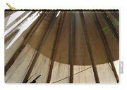 Inside The Tipi Carry-all Pouch