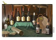 Inside The Wine Cellar Carry-all Pouch by Allen Sheffield