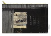 Barn - Kentucky - Inside Treasure Carry-all Pouch