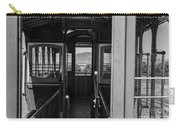 Inside Trolley 28 Black And White Carry-all Pouch