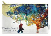 Inspirational Art - You Can Do It - Sharon Cummings Carry-all Pouch