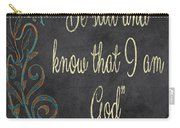 Inspirational Chalkboard-b Carry-all Pouch