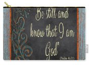 Inspirational Chalkboard-b2 Carry-all Pouch