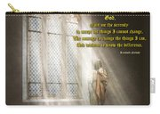 Inspirational - Heavenly Father - Senrenity Prayer  Carry-all Pouch