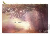 Inspirational Nature Landscape - God Listens - Dreamy Ethereal Spiritual And Religious Nature Photo Carry-all Pouch