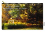 Inspirational - Prosperity - Job 36-11 Carry-all Pouch