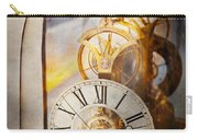Inspirational - Time - A Look Back In Time - Da Vinci Carry-all Pouch