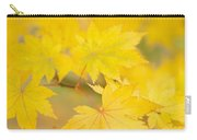 Intensely Yellow Carry-all Pouch by Anne Gilbert