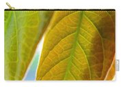 Interesting Leaves - Digital Painting Effect Carry-all Pouch
