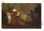 Interior By Edgar Degas Carry-all Pouch