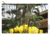 Interior Decorations Butterfly Gardens Vegas Golden Yellow Tulip Flowers Carry-all Pouch