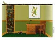 Interior Design Idea - Little Lizard - Animal Art Carry-all Pouch