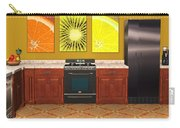 Interior Design Idea - Sweet Orange - Kiwi - Lemon Carry-all Pouch