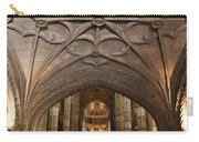Interior Of Jeronimos Monastery Church In Lisbon Carry-all Pouch