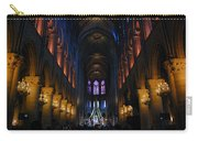 Interior Of Notre Dame De Paris Carry-all Pouch