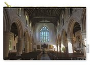 Interior Of St Mary's Church In Rye Carry-all Pouch