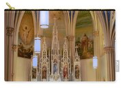 Interior Of St. Mary's Church Carry-all Pouch