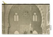 Interior Of The Mosque Of Qaitbay, Cairo Carry-all Pouch