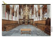 Interior Of The Oude Kerk In Amsterdam Carry-all Pouch