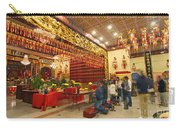 Interior Of Thien Hau Temple A Taoist Temple In Chinatown Of Los Angeles Carry-all Pouch