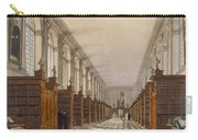 Interior Of Trinity College Library Carry-all Pouch