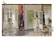 Interior Oil On Canvas Carry-all Pouch