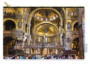 Interior St Marks Basilica Venice Carry-all Pouch