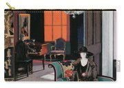 Interior - The Orange Blind, C.1928 Carry-all Pouch