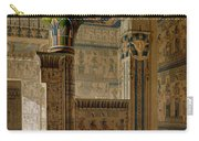 Interior View Of The West Temple Carry-all Pouch by Le Pere