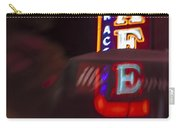 International Cafe Neon Sign At Night Santa Monica Ca Carry-all Pouch