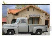 International Harvester L-110 Truck At Santa Fe Train Depot Carry-all Pouch