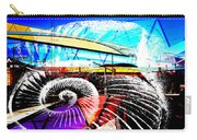 Interstate 10- Cushing St Overpass- Rectangle Remix Carry-all Pouch