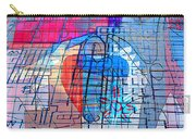 Interstate 10- Exit 255- Miracle Mile Overpass- Rectangle Remix Carry-all Pouch