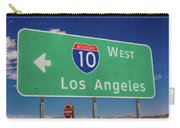 Interstate 10 Highway Signs Carry-all Pouch
