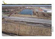 Interstate 75 Construction Ohio Aerial Carry-all Pouch