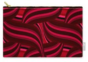 Intertwined Red Abstract Carry-all Pouch