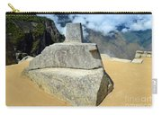 Inti Watana Stone Calendar At Machu Picchu Carry-all Pouch