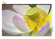 Intimate Sacred Lotus Bloom Carry-all Pouch