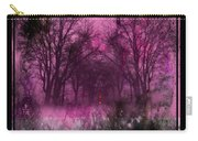 Into A Dark Pink Forest Carry-all Pouch