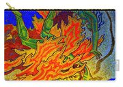 Into The Flames Of Hell Carry-all Pouch