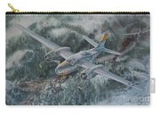 Into The Valley Of Death Carry-all Pouch by Randy Green
