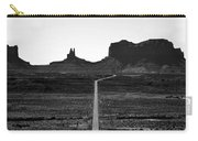 Into The Valley Of Monuments Carry-all Pouch