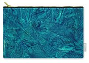 Intricate Blue Carry-all Pouch
