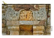 Intricate Carving At Wat Mahathat In 13th Century Sukhothai Hist Carry-all Pouch