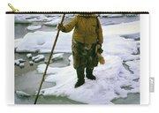 Inuit Seal Hunter Barrow Alaska July 1969 Carry-all Pouch