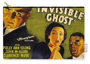 Invisible Ghost Carry-all Pouch by Monogram Pictures