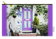 Invitation Greeting Card - Street Garden Carry-all Pouch