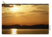 Iowa River Sunset V3 Carry-all Pouch