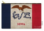 Iowa State Flag Carry-all Pouch by Pixel Chimp
