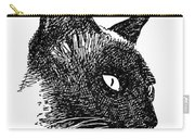 iPhone-Case-Cat-Siamese Carry-all Pouch